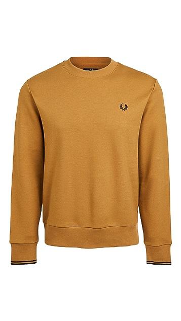 Fred Perry Crew Neck Sweatshirt