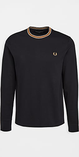 Fred Perry - Tramline Tipped T-Shirt