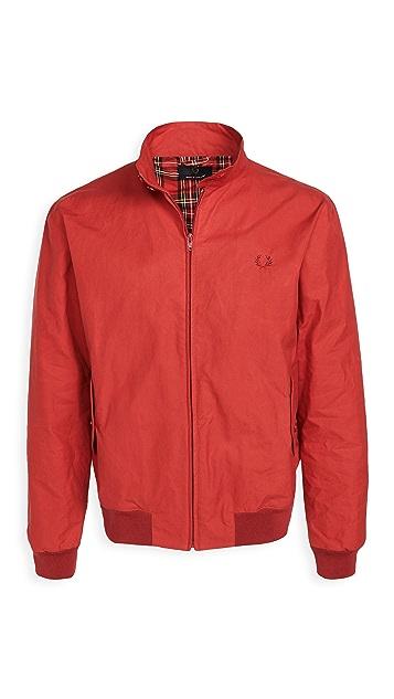 Fred Perry Made In England Wax Harrington Jacket
