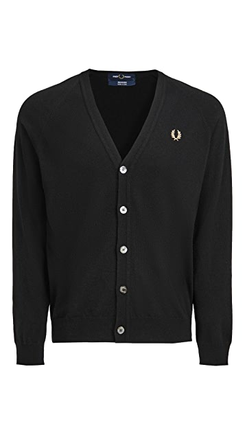 Fred Perry Lambswool Cardigan