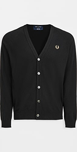 Fred Perry - Lambswool Cardigan