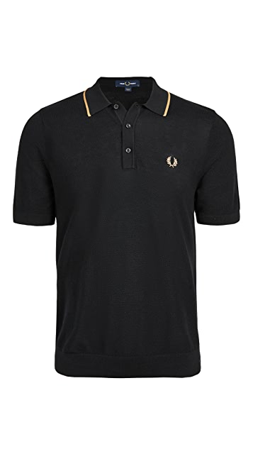 Fred Perry Tipped Knitted Shirt