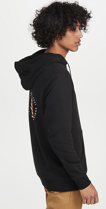Fred Perry Laurel Wreath Hooded Sweatshirt