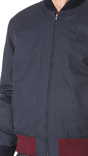 Fred Perry by Raf Simons Padded Bomber Jacket