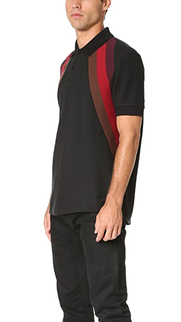 Fred Perry by Raf Simons Rib Insert Pique Polo