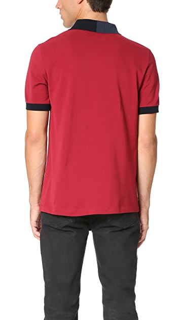 Fred Perry by Raf Simons Split Collar Pique Polo