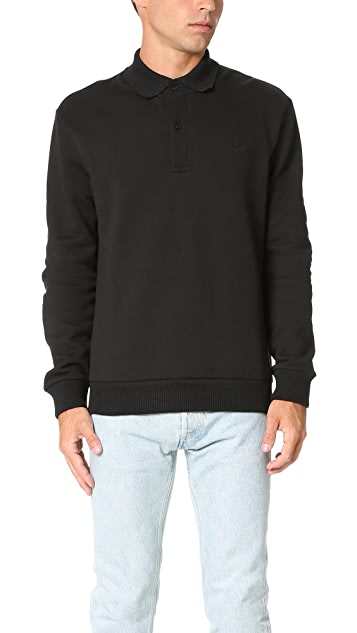 Fred Perry by Raf Simons Flat Knit Collar Sweatshirt