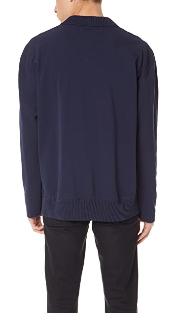 Fred Perry by Raf Simons Long Sleeve Pique Shirt