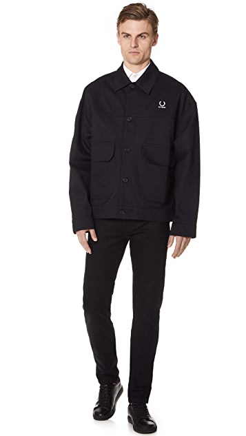 Fred Perry by Raf Simons Tape Detail Jacket