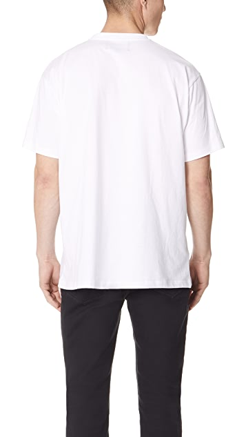 Fred Perry by Raf Simons Tape Detail Tee