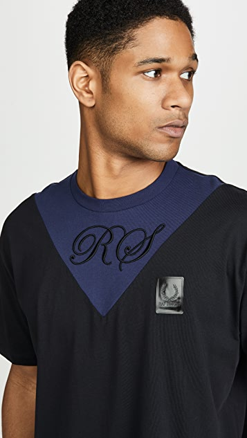 Fred Perry by Raf Simons V-Insert T-shirt