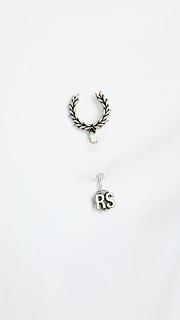 Fred Perry by Raf Simons Raf Laurel Wreath Pin T-Shirt