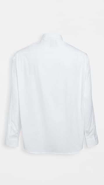 Fred Perry by Raf Simons Raf Embroidered Cuff Shirt