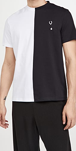Fred Perry by Raf Simons - Split T-Shirt
