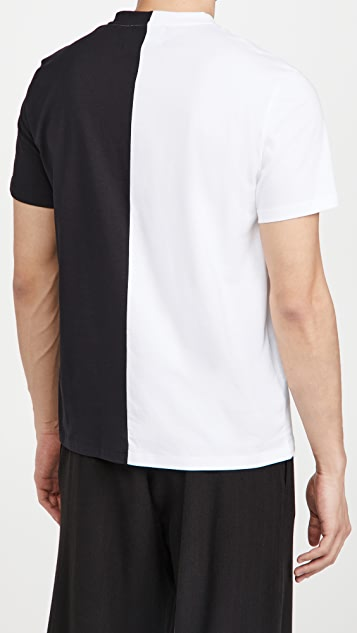 Fred Perry by Raf Simons Split T-Shirt