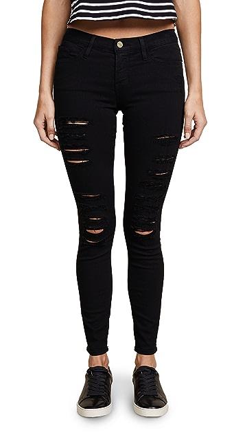 d551207bef1c ... FRAME Le Color Rip Skinny Jeans