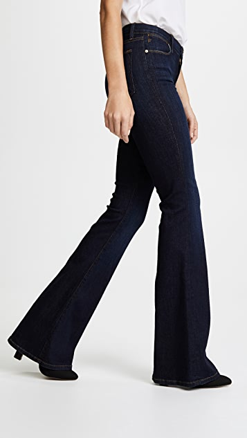 FRAME Le High Flare Jeans