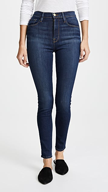 high-rise skinny jeans - Blue Frame Denim gHZKRq0P