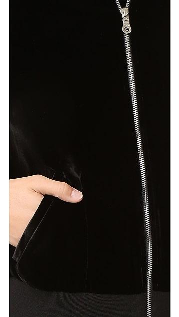 FRAME Frame Atelier Le Velvet Bomber Jacket