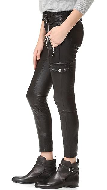 FRAME Moto Skinny Pants