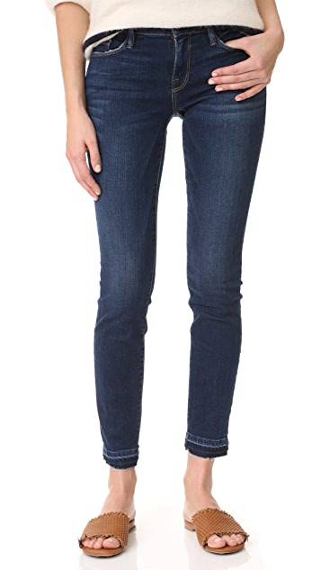 f5593037e0ae5 FRAME Le Skinny de Jeanne Jeans with Release Cuffs
