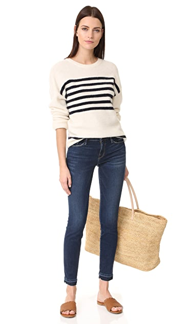 FRAME Le Skinny de Jeanne Jeans with Release Cuffs