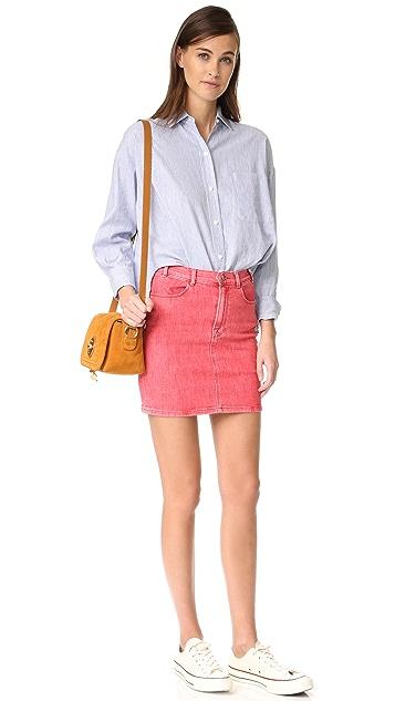 FRAME Le Color Pencil Skirt