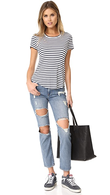 FRAME Прямые джинсы Le High