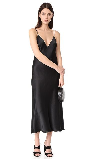FRAME Satin Tank Dress