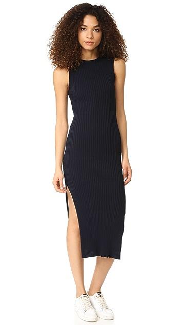FRAME Rib Dress