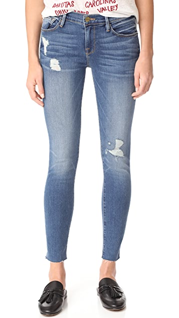 39ae6bf751170 FRAME Le Skinny De Jeanne Jeans