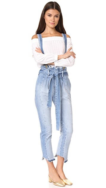 FRAME Le Mix Overalls