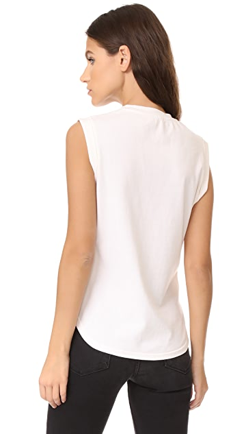 FRAME Muscle Shirttail Tee