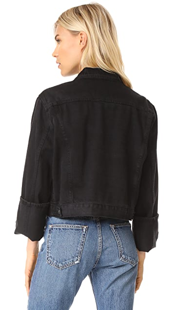 FRAME Reverse Overlook Cuff Le Jacket