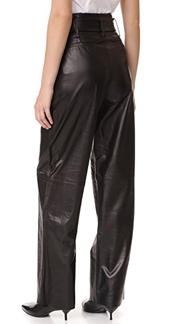FRAME Wide Leg Trousers