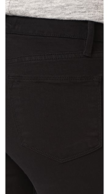 FRAME Le High Skinny Raw Edge Jeans