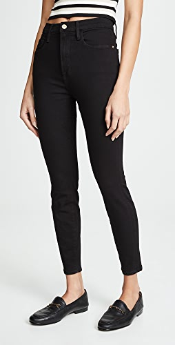 FRAME - Ali High Rise Skinny Cropped Cigarette Jeans