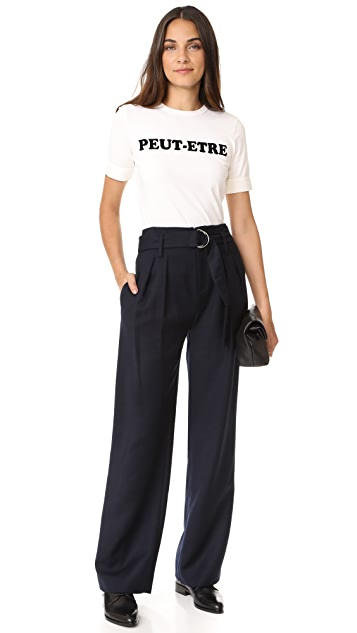 FRAME High Waisted D Ring Pants
