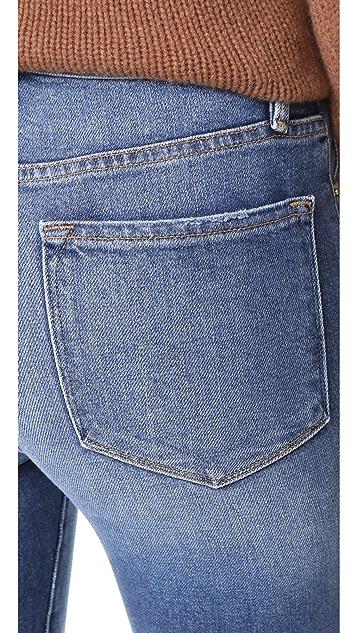 FRAME Ali High Rise Skinny Jeans