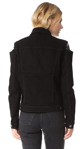 FRAME Le Cutout Jacket