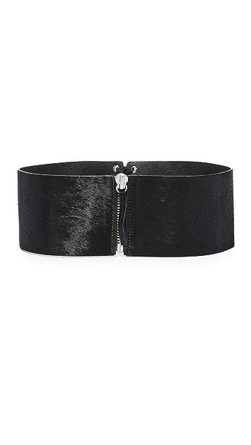 FRAME Lace Up Corset Belt