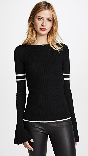 FRAME Rugby Bell Sweater