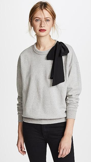FRAME Bow Sweatshirt