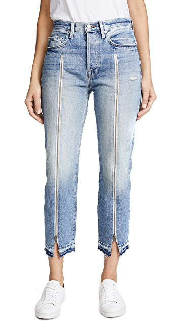 FRAME Le Original Jeans with Zipper