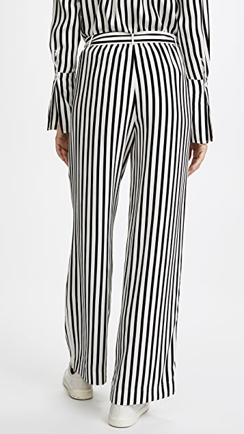 FRAME Easy Stripe Pants