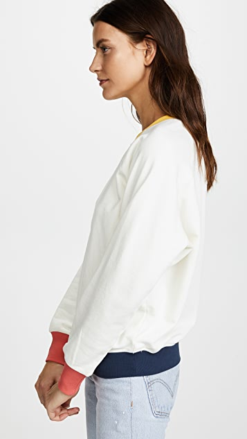 FRAME Colorblock Sweatshirt