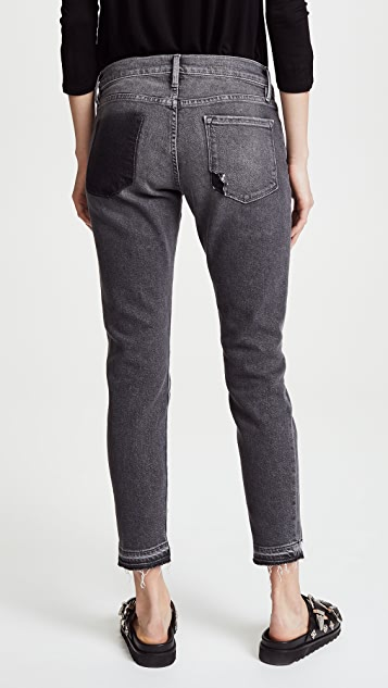 FRAME Le Garcon Jeans with Released Hem | SHOPBOP