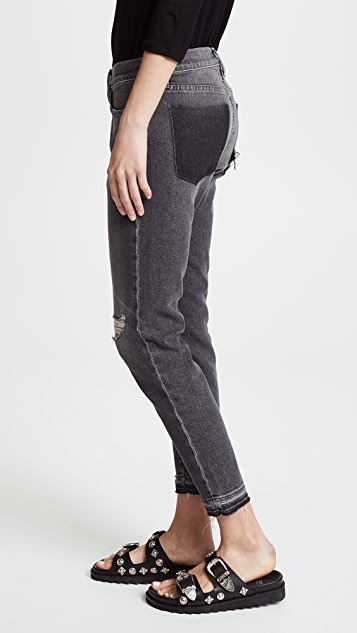 FRAME Le Garcon Jeans with Released Hem