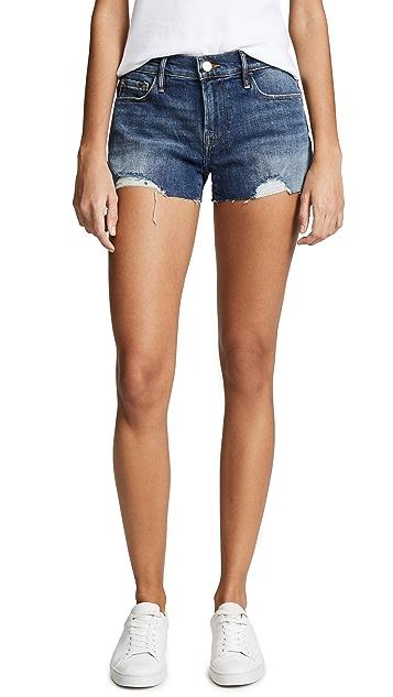 FRAME Le Cuttoff Shorts