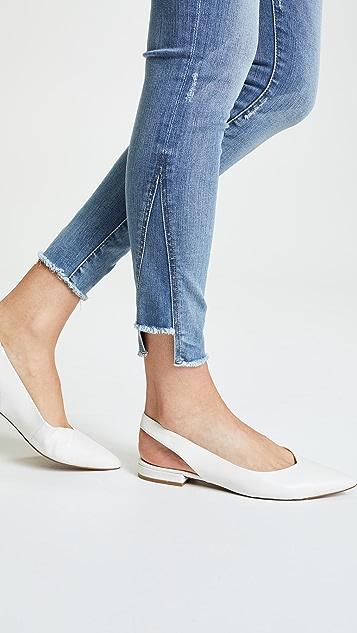 FRAME Le High Skinny Gusset Step Jeans